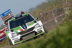 Umberto Scandola, Guido D'Amore, Skoda Fabia R5, Skoda Motorsport Italia