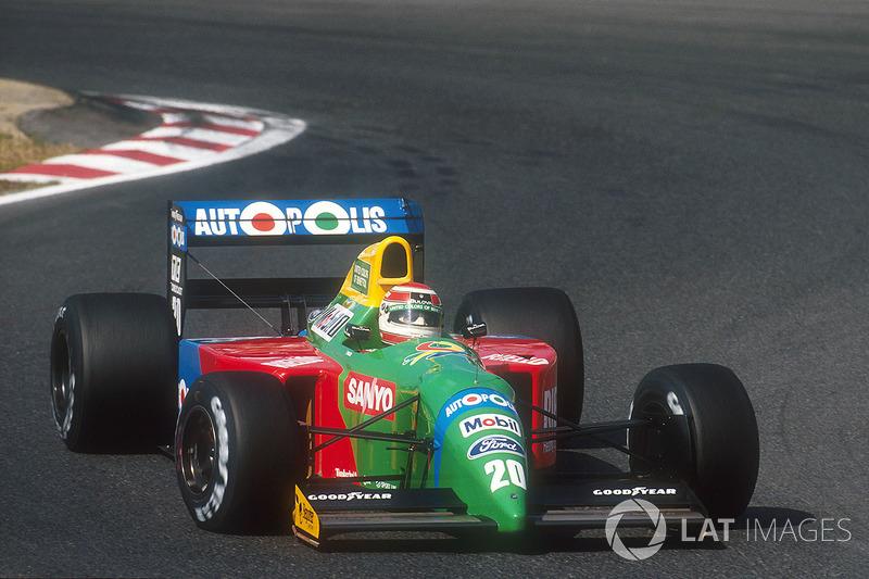 1990: Nelson Piquet (Benetton B190 Ford)