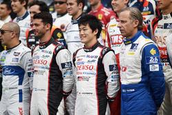 Jose Maria Lopez, Yuji Kunimoto, Toyota Gazoo Racing