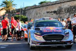 El coche de Sébastien Ogier, Julien Ingrassia, M-Sport, Ford Fiesta WR