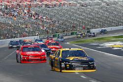Brendan Gaughan, Richard Childress Racing Chevrolet and Ross Chastain, JD Motorsports Chevrolet