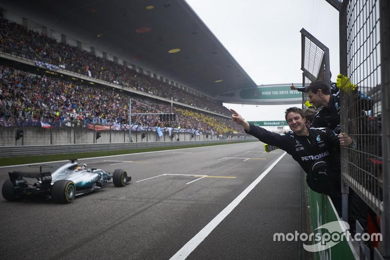 Çin GP: Lewis Hamilton, Mercedes AMG F1 W08
