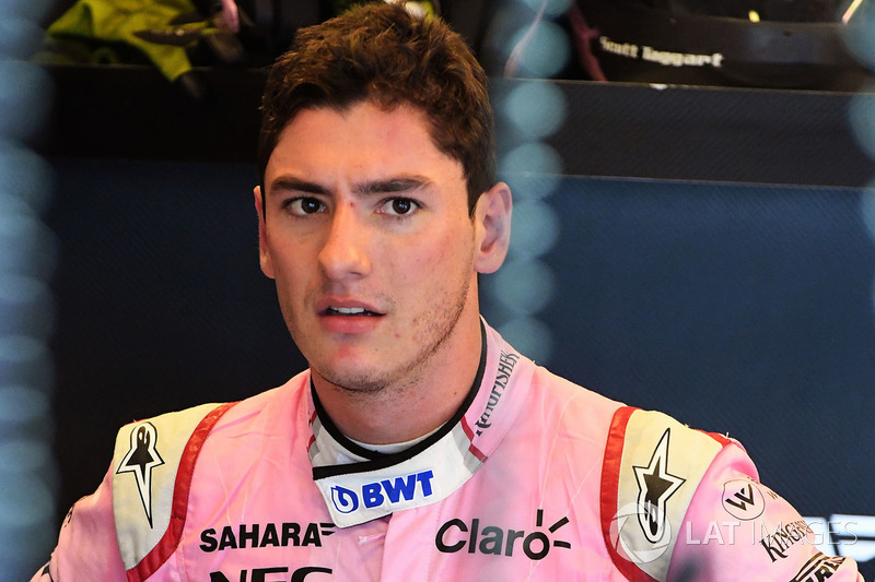 Alfonso Celis jr, Force India piloto de prueba
