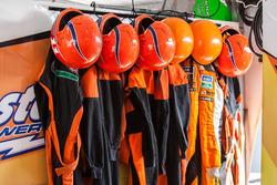 Neumático cambio el equipo de seguridad en Castellano Power Team