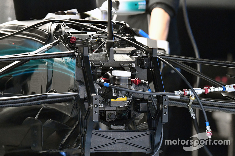 Mercedes AMG F1 W08, Front, Detail