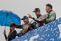 Juan Manuel Silva, Catalan Magni Motorsport Ford, Matias Rossi, Nova Racing Ford, Gaston Mazzacane, Coiro Dole Racing Chevrolet