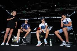Esteban Ocon, Sahara Force India F1, Felipe Massa, Williams and Lance Stroll, Williams on stage