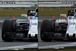 Williams FW40: Seitenkasten, Vergleich