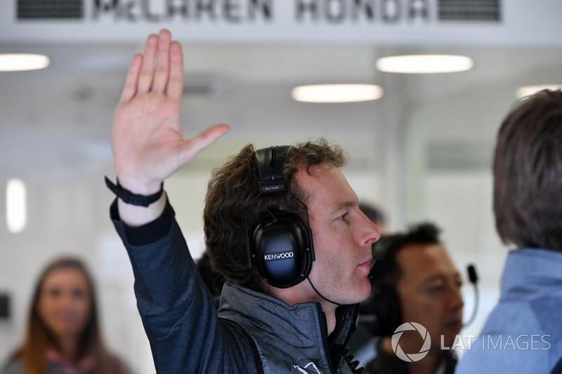 Гоночний інженер McLaren Марк Темпл
