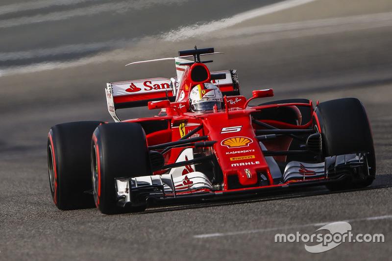 3: Себастьян Феттель, Ferrari SF70H