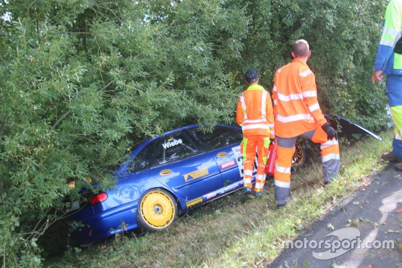 Björn Wiebe, Renault Laguna BTCC, MSC Odenkirchen, Unfall 3. Rennlauf