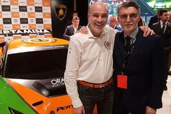 Armando Donazzan, Orange1 Racing owner and Lorenzo Senna, Motorsport.com Switzerland country leader