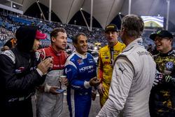 David Coulthard, Ryan Hunter-Reay