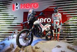 Hero MotoSports Team Rally: Moto de CS Santosh