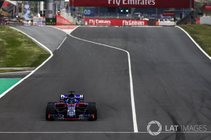 13. Brendon Hartley, Scuderia Toro Rosso STR13