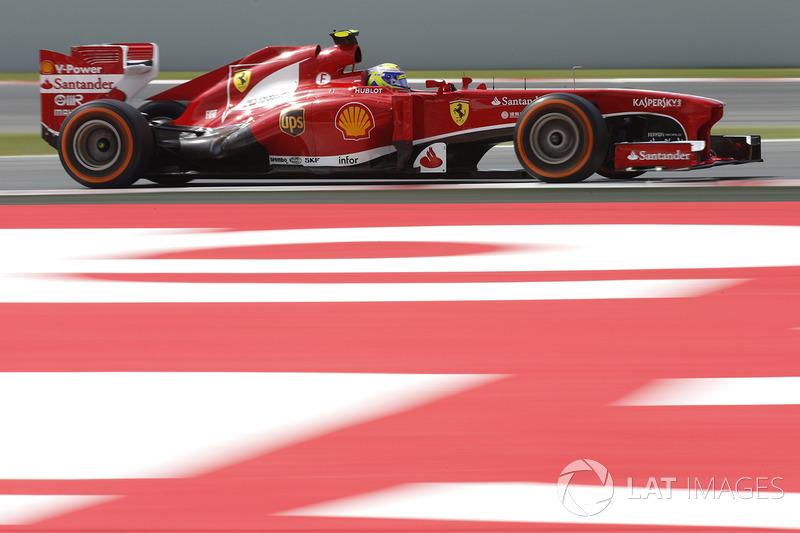 2013: Felipe Massa, Ferrari F138