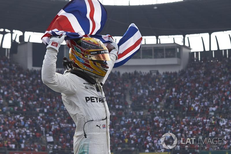 13. 2017 - Lewis Hamilton, Mercedes (72,6%)