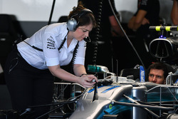 Mercedes AMG F1 engineer