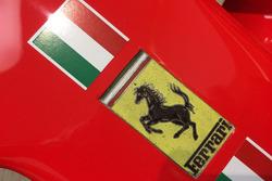 Logo Ferrari sulla SF70H