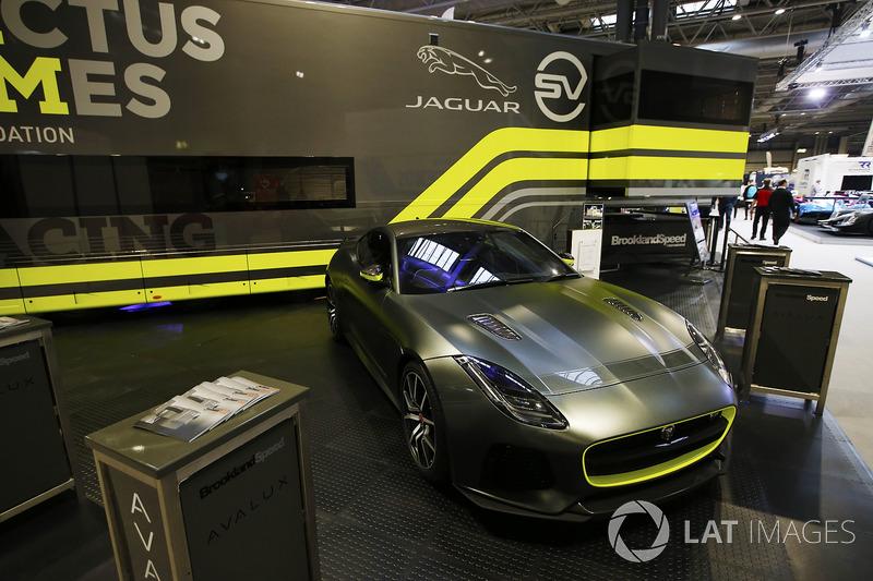 An Invictus Jaguar F-Type GT4 car