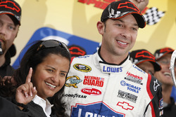 Alba Colon and Chad Knaus