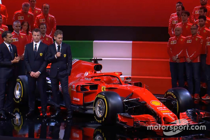Kimi Raikkonen, Ferrari, Sebastian Vettel, Ferrari, Marc Gene, Ferrari