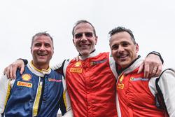 Ferrari Challenge podium