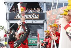 Podium: Chaz Mostert, Steven Owen, Rod Nash Racing Ford