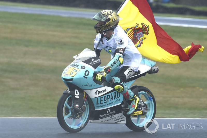 El campeón Joan Mir, Leopard Racing