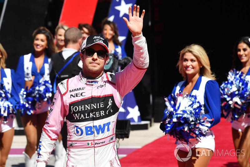 8. Sergio Perez, Sahara Force India F1