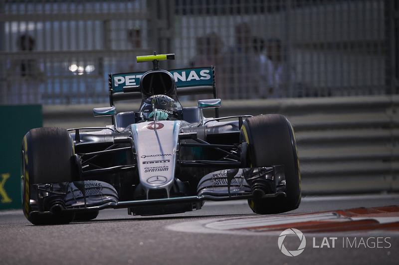 Nico Rosberg, Mercedes F1 W07 Hybrid