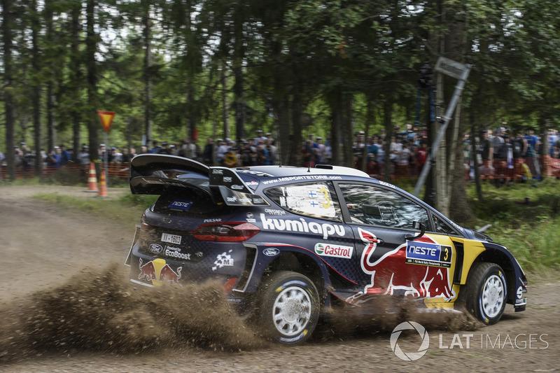 Теему Сунинен и Микко Марккула, Ford Fiesta WRC