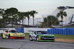 #91 TA2 Chevrolet Camaro, Joe Napoleon of Napoleon Motorsports, #88 TA2 Chevrolet Camaro, Rafael Matos of HP Tech Motorsports