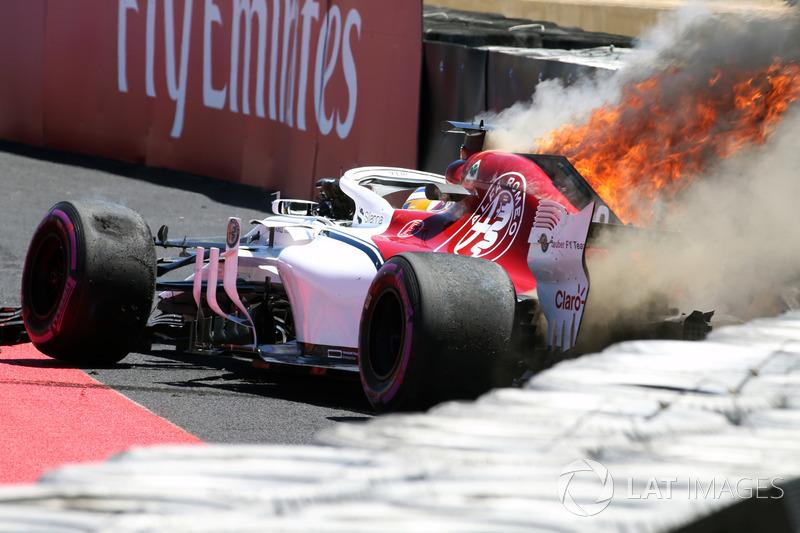 Francia - Marcus Ericsson (Libres 1)
