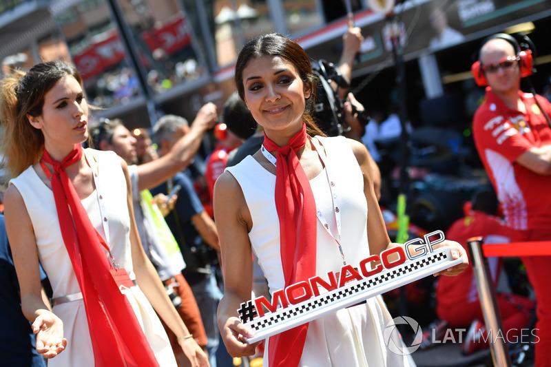 Chicas de GP de Mónaco