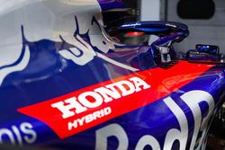 Honda logo op de Toro Rosso