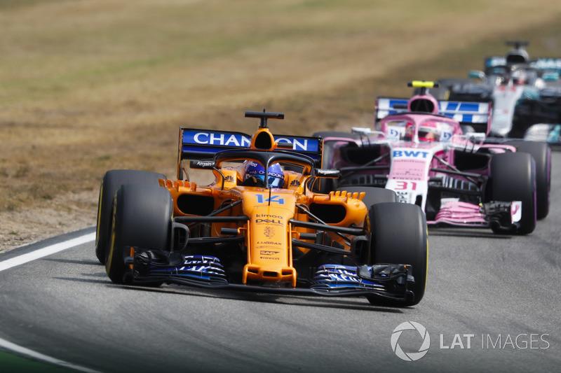 DNF: Fernando Alonso, McLaren MCL33