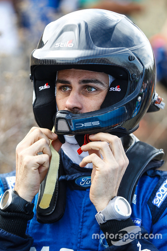 Benjamin Veillas, M-Sport Ford Fiesta WRC