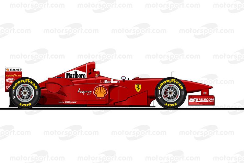 Michael Schumacher, Ferrari F300, 1998