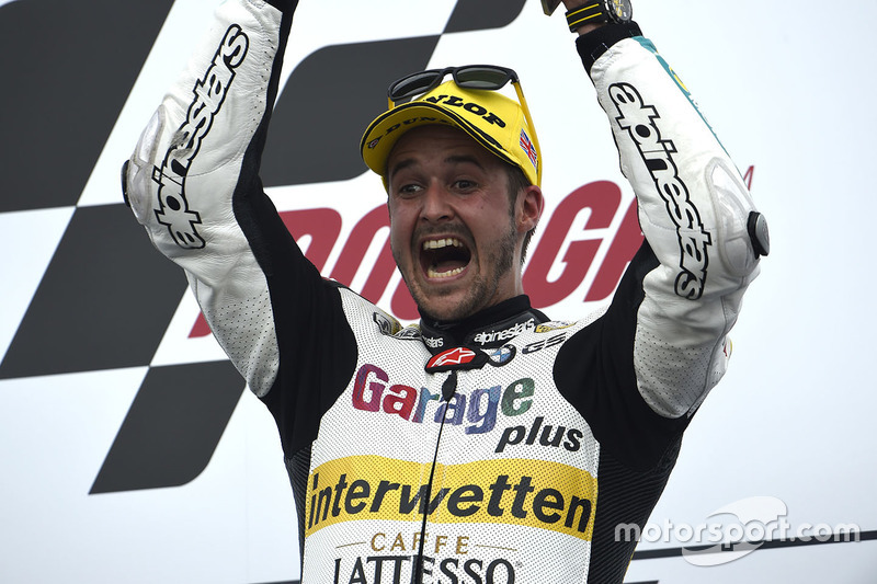 Podium: race winner Thomas Lüthi, Interwetten