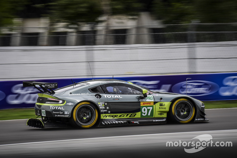 1. GTE-Pro: #97 Aston Martin Vantage GTE: Richie Stanaway, Darren Turner