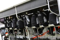 Командный мостик Sahara Force India F1