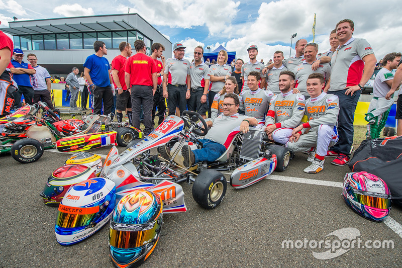 #35 Le Mans PSM: Florian Venturi, Alexandre Jenouvrier, Loïc Reguillon, Cécile Martini