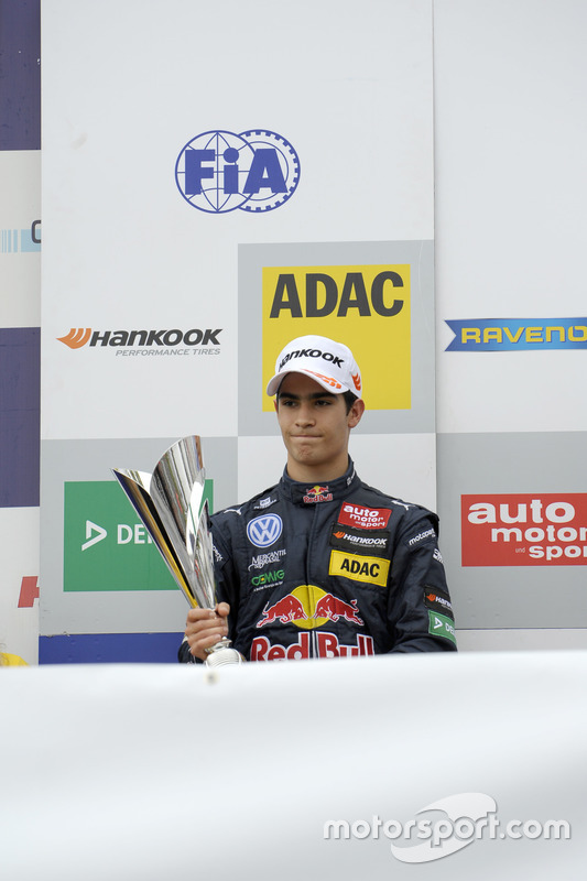 Podium: Sérgio Sette Câmara, Motopark Dallara F312 – Volkswagen