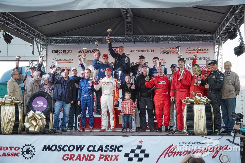 Подиум Moscow Classic Grand Prix
