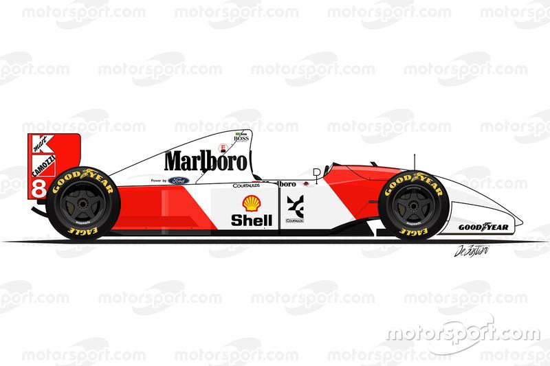 1993 - McLaren MP4-8