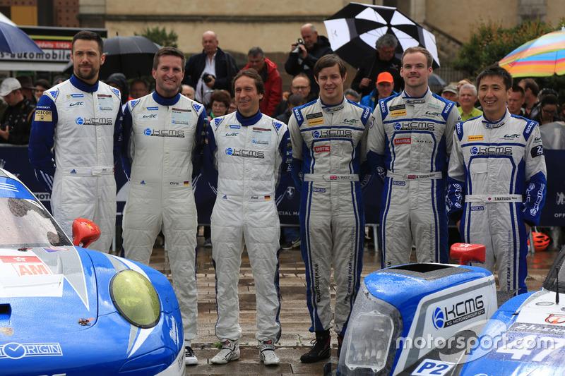 #78 KCMG Porsche 911 RSR: Крістіан Ріід, Вольф Хенцлер, Жоель Каматьяс та #47 KCMG Oreca 05 Nissan: Цугіо Мацуда, Метт Хоусон, Річард Бредлі