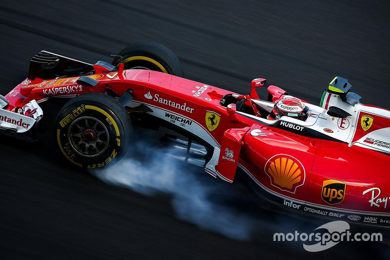 Verbremser: Kimi Räikkönen, Ferrari SF16-H