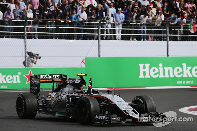 Force India: 7 очков