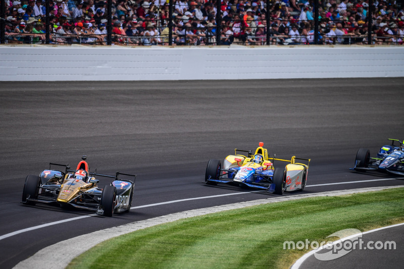 james Hinchcliffe, Schmidt Peterson Motorsports Honda at Indy 500